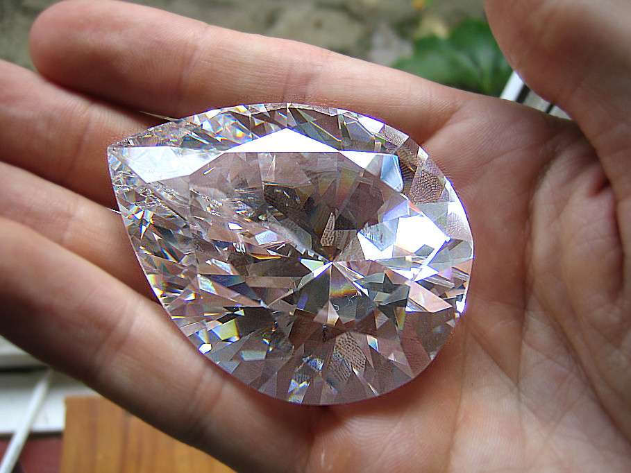The Great Star of Africa - largest cut diamond in the world