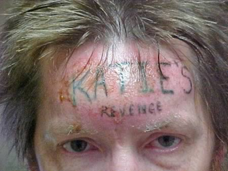 The prisoner who got a tattoo with the name of the girl he killed