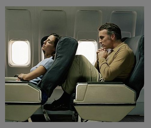 Fight over legroom, caused a plane to land