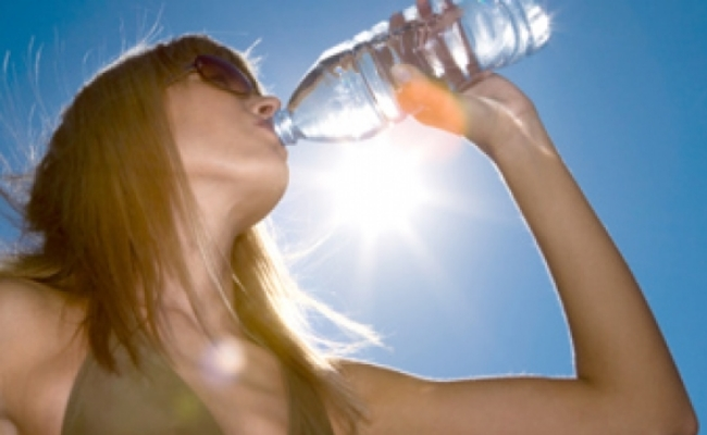 Dehydration stops the human thirst