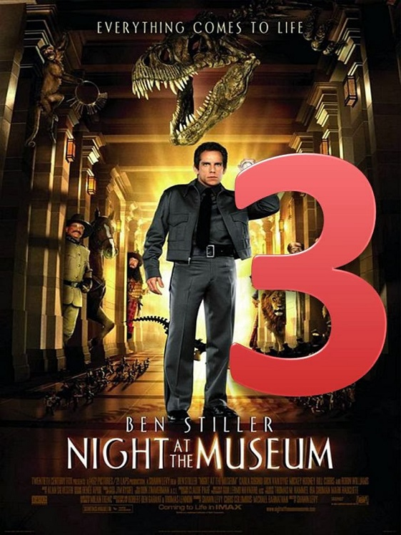 Night at the Museum: Secret of the Tomb (December 19th, 2014)