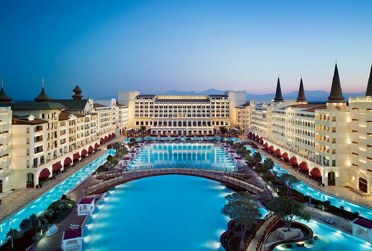 Mardan Palace, Antalya, Turkey