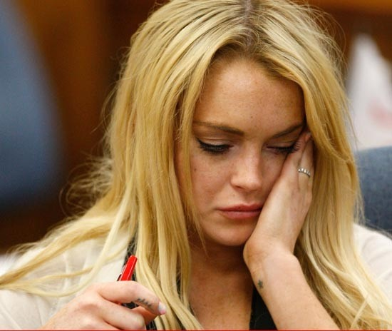 Lindsay Lohan's battle with addictions
