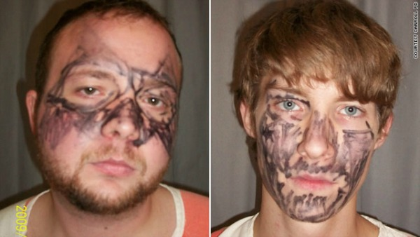 "Dubbed as ""dumb and dumber,"" these two robbers wore ""the worst disguise ever"""