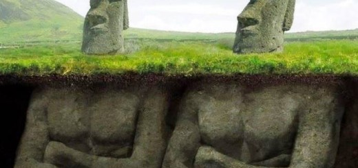 The shocking discovery underneath the Easter Island heads