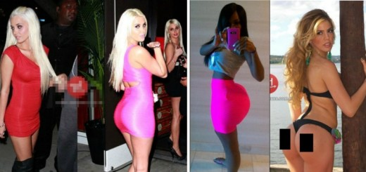 8 Celebrities who have had their butts enhanced and enlarged