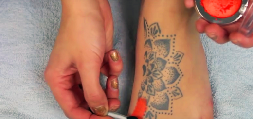 See a brilliant way to cover up tattoos in 7 steps, at home!!