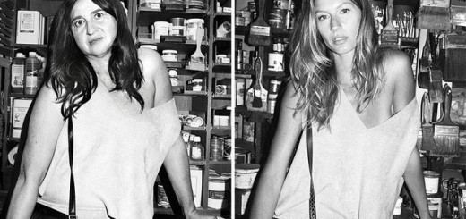What happens if a normal woman posed for photographs instead of supermodels?