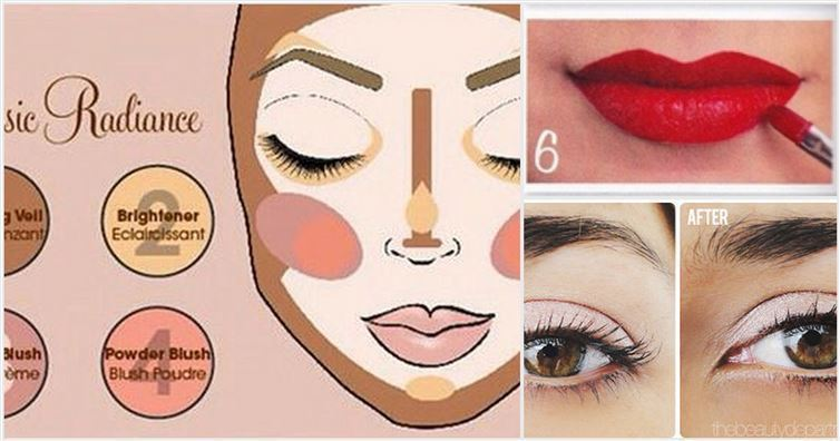 10 Diagrams To Learn Better Makeup Techniques