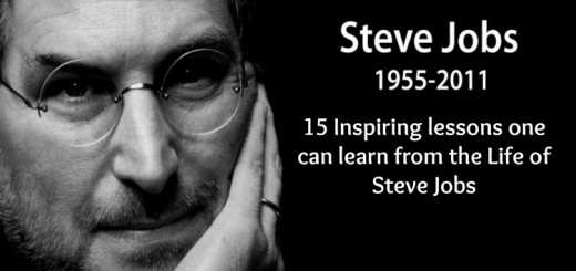 15 inspiring lessons one can learn from the Life of Steve Jobs