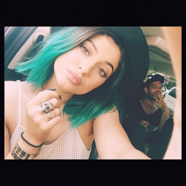 Kylie Jenner and her lips
