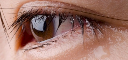 Seeing tears under microscope is surreal and shocking