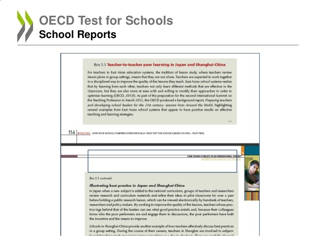 The OECD report