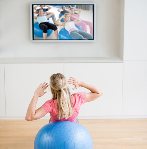 Fitness Dvd For Very Unfit: A Study Report Says That Exercise DVDs May Have Negative