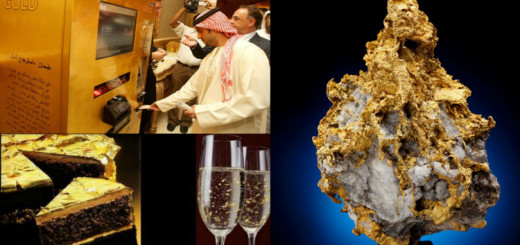 20 Mind blowing facts about gold that you didn't know!