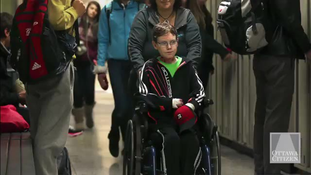 Jonathan Is Now Restricted To A Wheelchair. His Condition Is Worsening