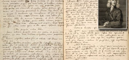 Newton's manuscript on alchemy provides a recipe for the magical philosopher's stone