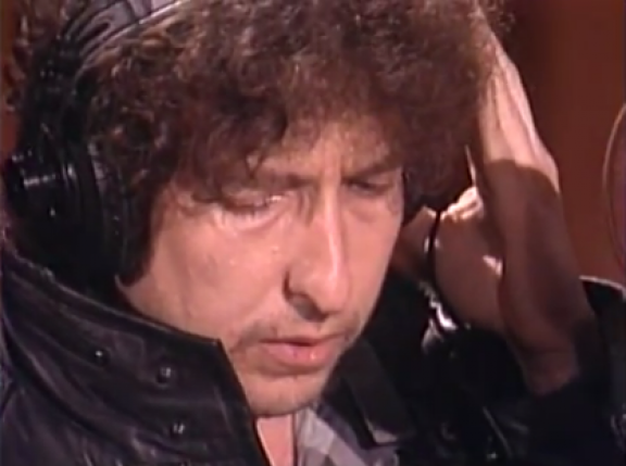 Bob Dylan Was Actually Nervous About His Solo