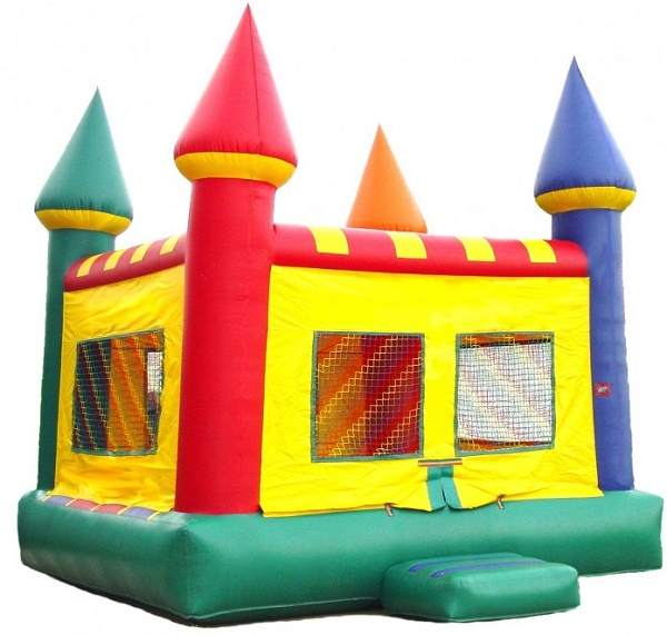 Fun and air-filled Bounce houses
