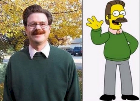 Ned Flanders from 'The Simpsons'