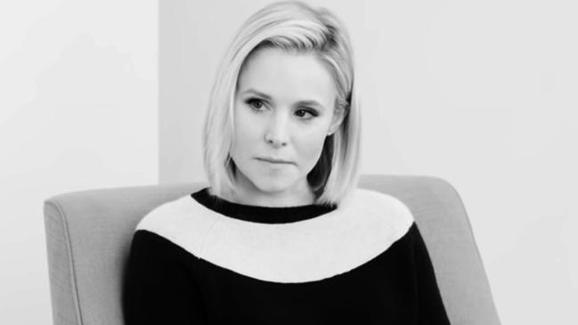Kristen Bell and her confessions