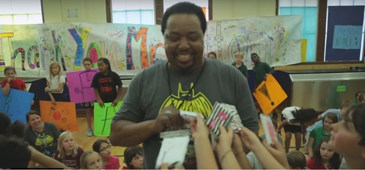 Mr. Patton and the elementary school