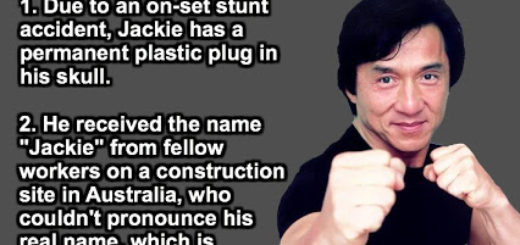 The most amazing facts about Hollywood's daredevil stuntman and movie director , Jackie Chan