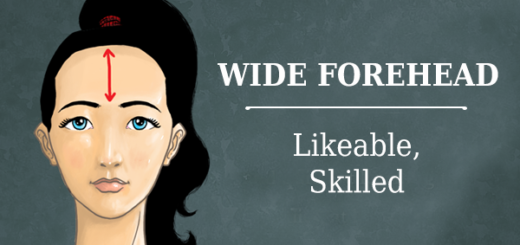 The shape of your forehead reveals your personality