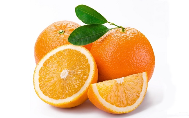 Citrus fruit like Oranges