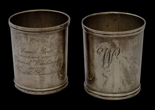 George Washington's Silver Cups