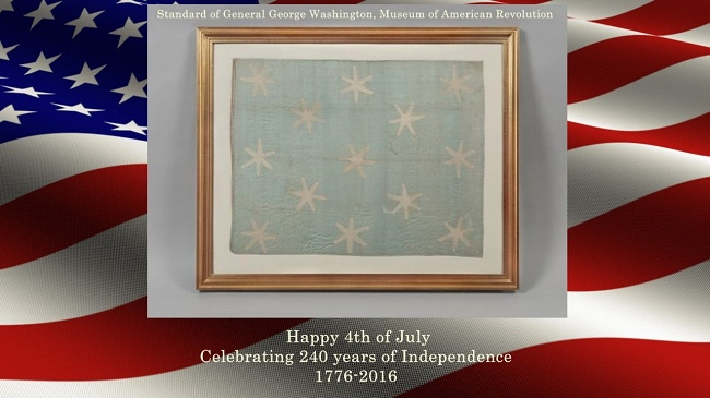 The Oldest Stars and Stripes Belonging To Washington