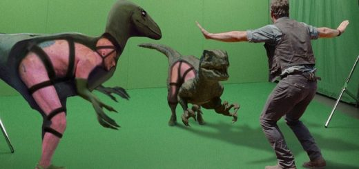 13 Hollywood movie scenes before and after special effects