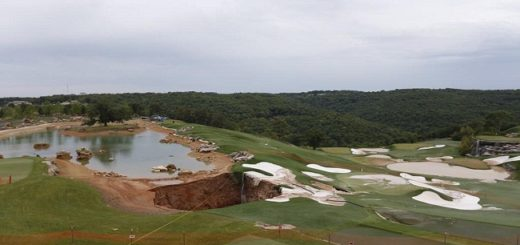 A Billionaire found a massive Sinkhole beneath his Golf Course that revealed something spectacular