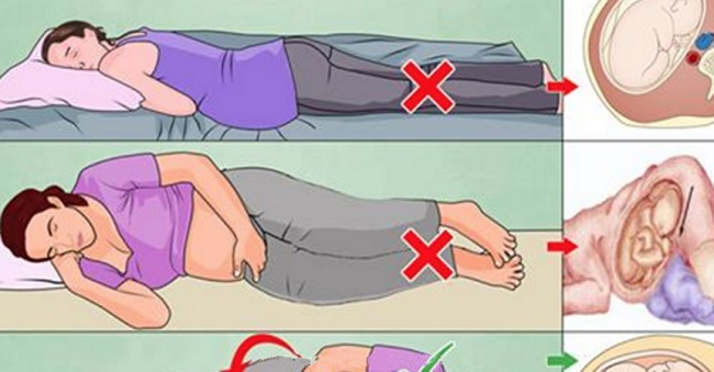 pregnancy health sleeping positions during pregnancy