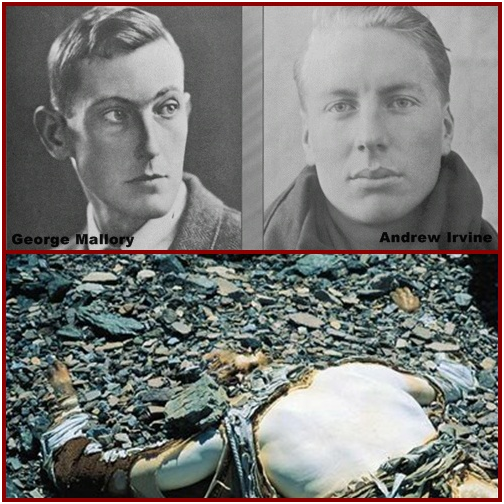 8 Mysterious deaths and disappearances that shocked the world George Mallory And Andrew Irvine