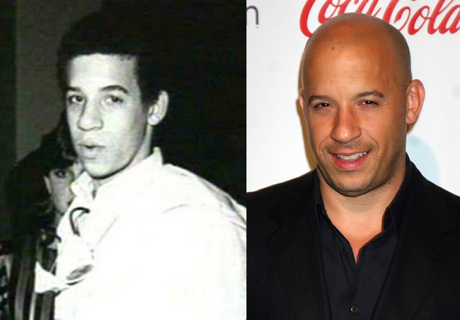 Vin Diesel's first acting experience