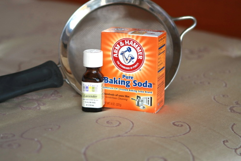 Baking soda is effective against germs