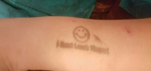 Alabama school stamps a boy's arm with a message for his dad who goes crazy