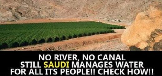 Saudi Arabia has no rivers or lakes yet it supplies water to all of its cities, This is truly a mystery