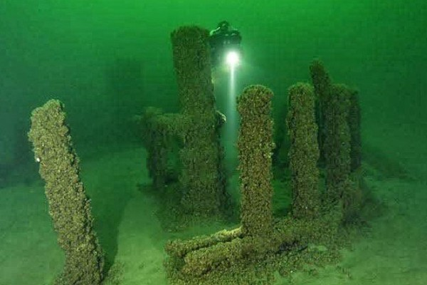 Submerged Stonehenge