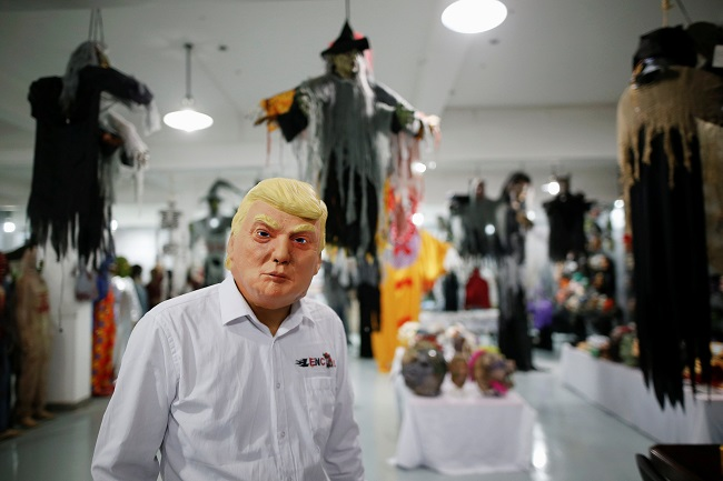 The Trump Halloween Mask Index