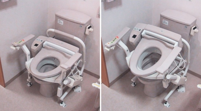 Multi-functional toilets