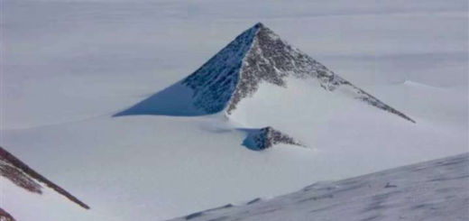 What was the truth about the mysterious Pyramids discovered in Antarctica