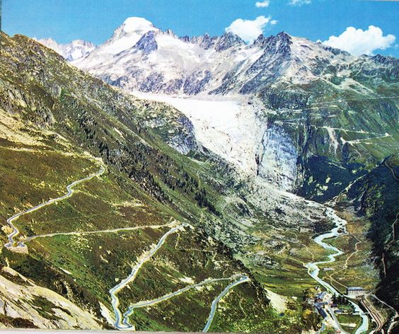 Furka and Grimsel Road, Switzerland