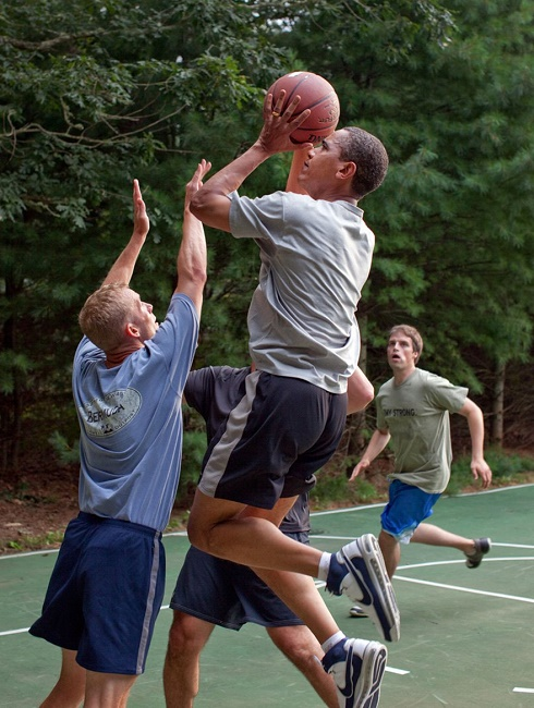 Obama is Sports fanatic