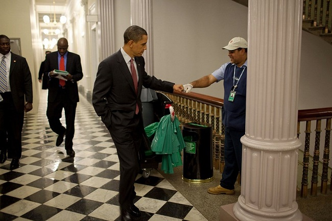 President Obama A leader to the core