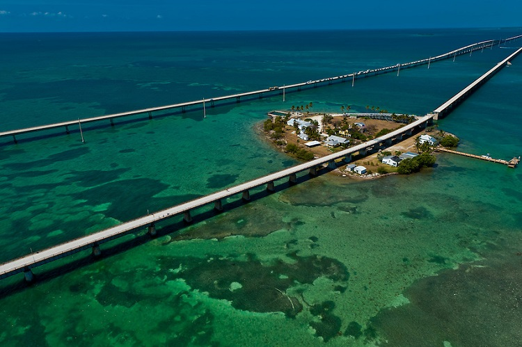 Seven Mile Bridge, Florida, USA