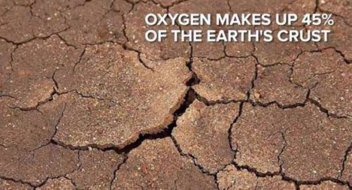 The earth's crust would crumble