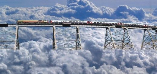 10 Of The Scariest And Most Dangerous Train Routes In The World