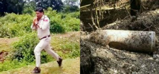 Bravo!! Heroic cop in India saves 400 school children by running away with 10kg Bomb